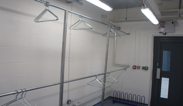 Fire Fighters Drying Room Equipment