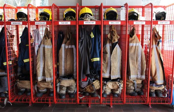 Heavy Duty Fire Fighters Lockers