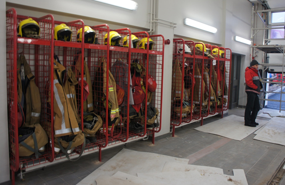 Heavy Duty Fire Fighters Lockers