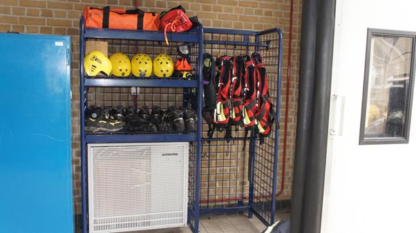 Water Safety Storage