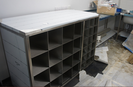 BA Cylinder Storage & Workstations