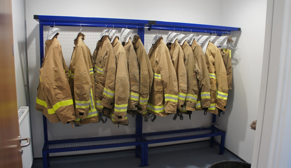 Fire Fighter's Benches & Kit Room
